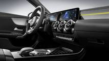 The interior design of the new A-Class