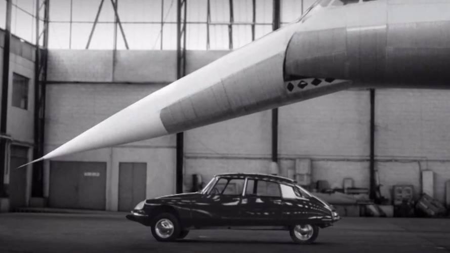 VIDÉO - Le DS 7 Crossback rencontre la Citroën DS