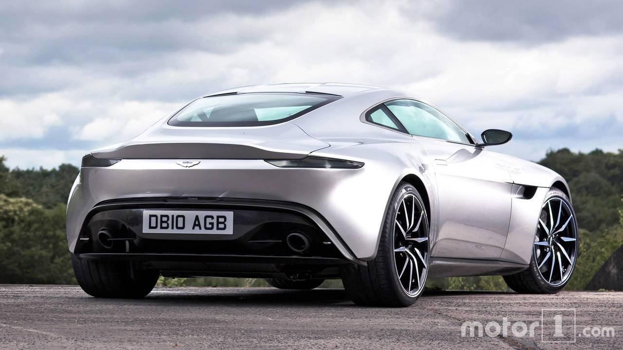 Aston Martin Vantage vs DB10