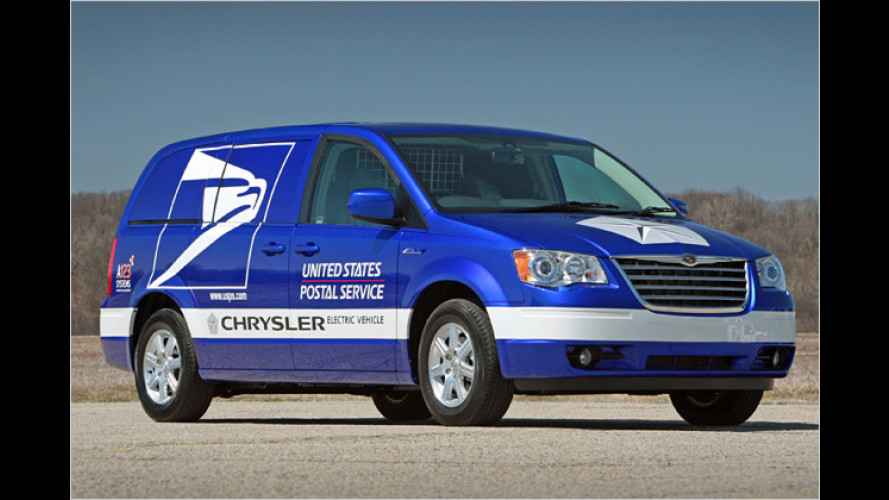 Elektro-Van von Chrysler: Das umweltfreundliche Postauto