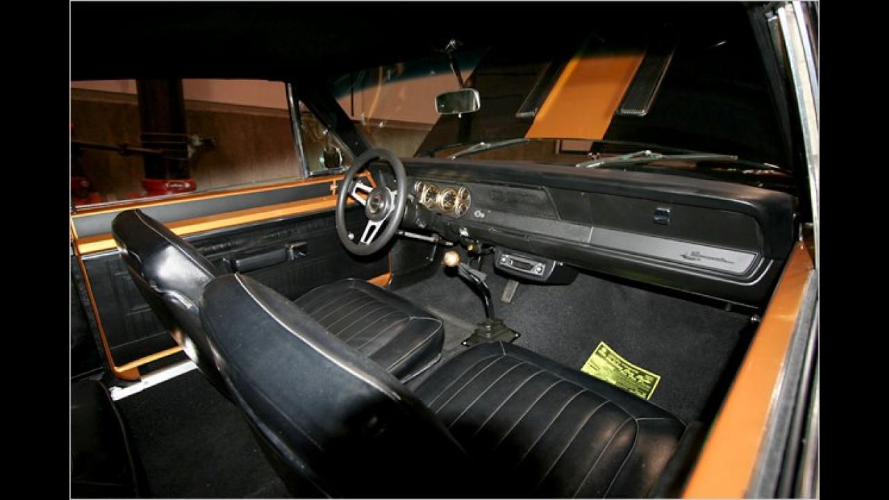 Karg: Das Cockpit des Barracuda