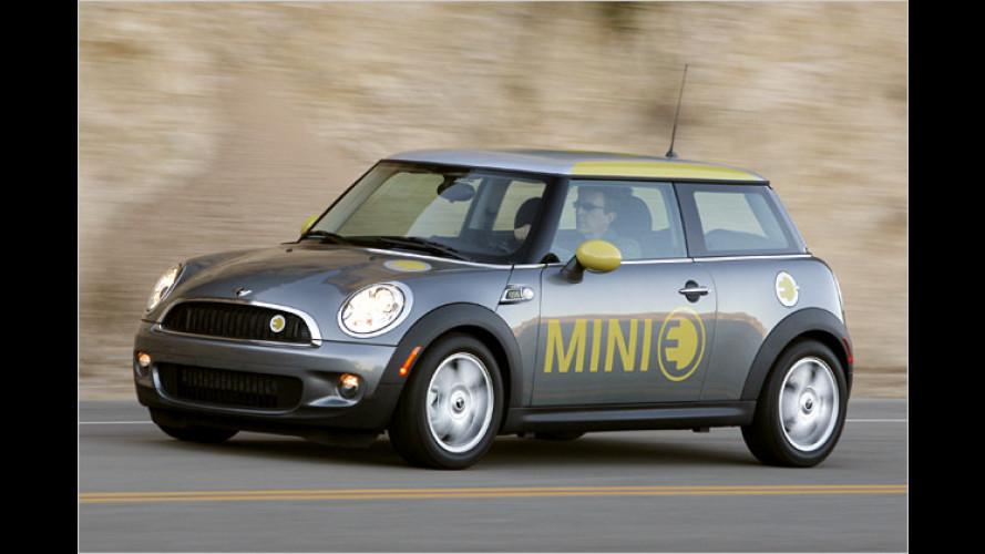 Mini E und E.ON: In München startet die Elektromobilität