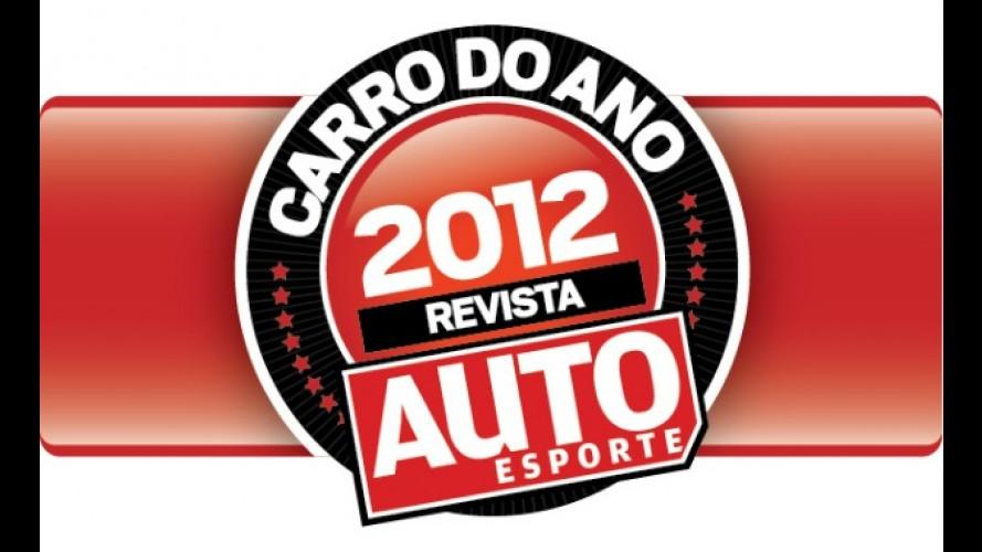Revista AUTO ESPORTE divulga finalistas do CARRO DO ANO 2012