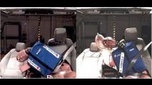Coluna Alta Roda Extra: Mais segurança com uma bolsa no meio
