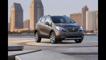 Salão de Detroit: Buick revela oficialmente novo crossover Encore