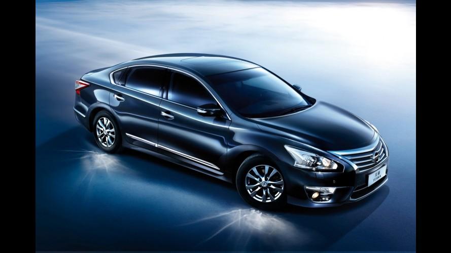 Novo Nissan Altima vira nova geração do Teana na China