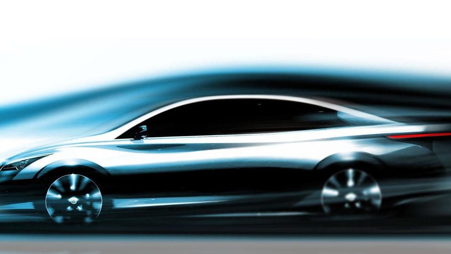 Infiniti EV teased for 2014