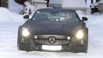 2013 Mercedes SLS AMG Black Series spy photo 10.1.2012