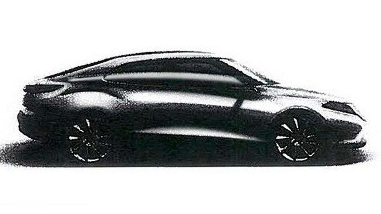Leaked sketch of 2012 Saab 9-3 01.11.2011