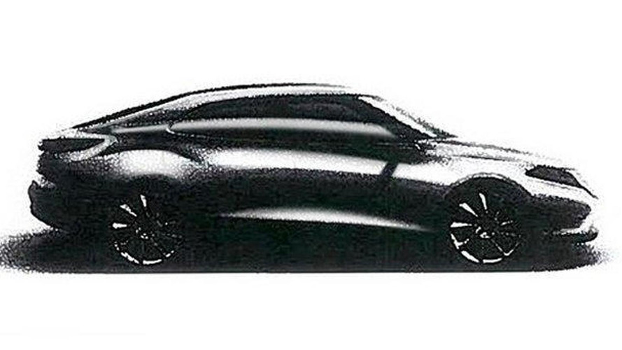 2014 Saab 9-3 design sketch leaked
