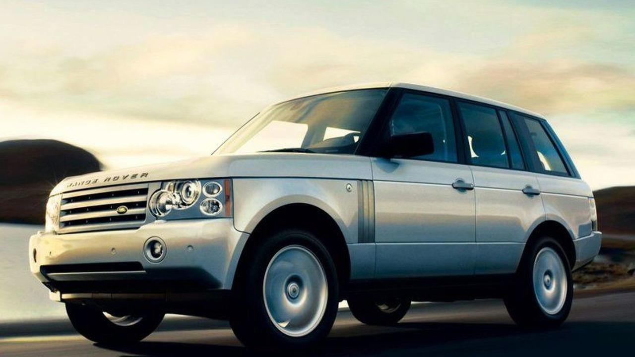 Armoured Range Rover Vogue (AU)