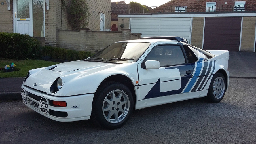 Amazingly clean 1985 Ford RS200 has driven just 2,832 km