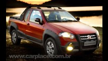 Fiat lança oficialmente a Nova Strada Adventure Locker 1.8 2009 - Veja fotos