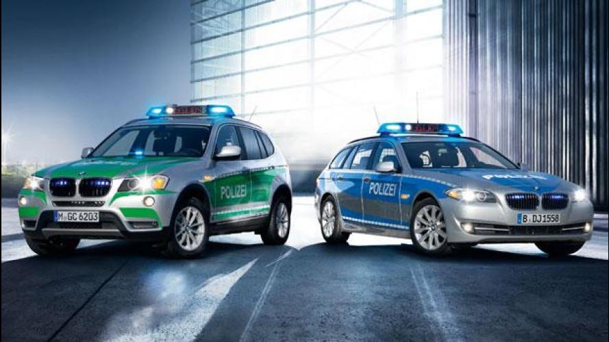 Le nuove BMW per la polizia tedesca sono pronte