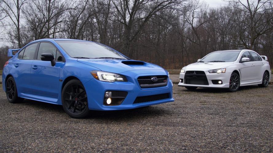 2016 ile sona eren rekabet: Mitsubishi Lancer Evo ile Subaru WRX STi
