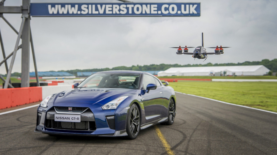 Nissan GT-R drone does 0-62 mph in just 1.3 seconds