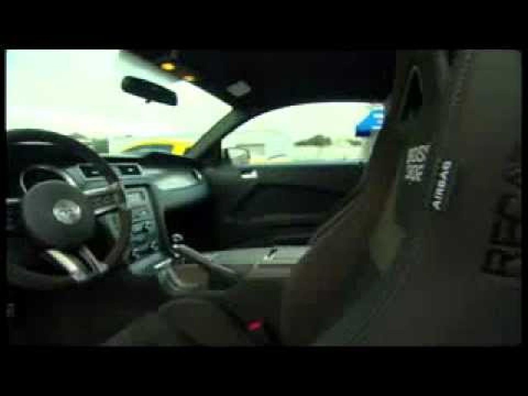2012 Mustang Boss Interior