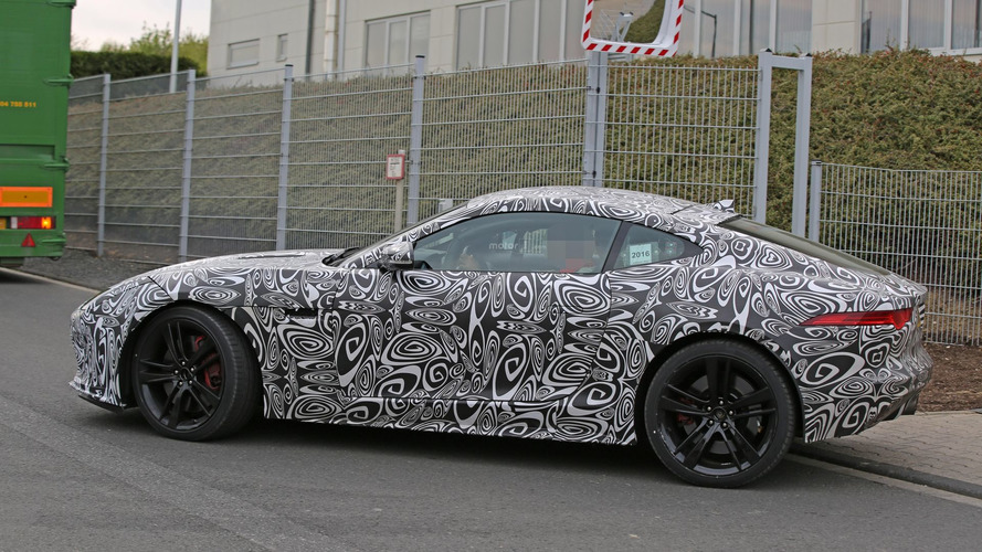 Jaguar F-Type spied wearing its first-ever updated skin