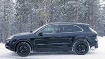 Spyshots du prototype du Porsche Cayenne 2018