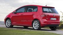 2014 Volkswagen Golf Plus speculative rendering 04.04.2013