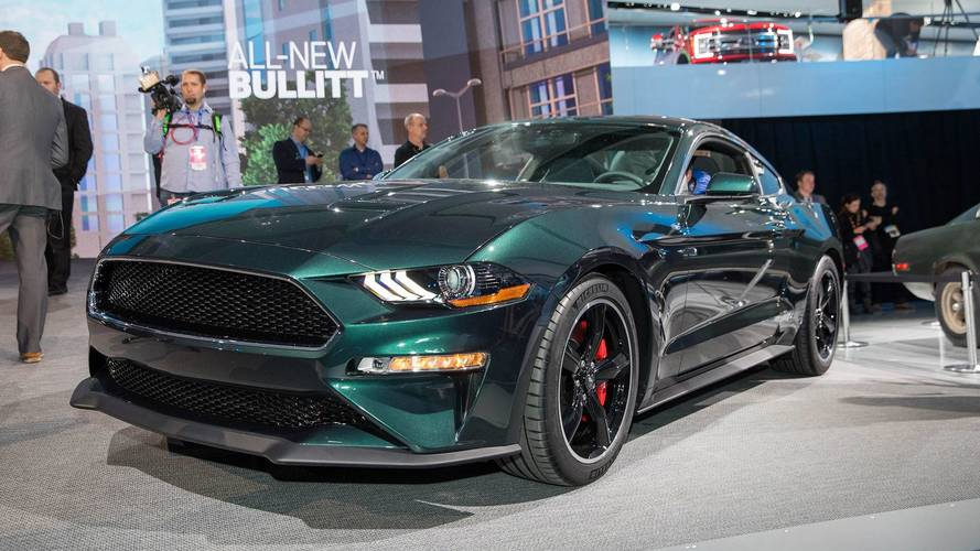 2019 ford mustang bullitt takes to the streets in detroit. Black Bedroom Furniture Sets. Home Design Ideas