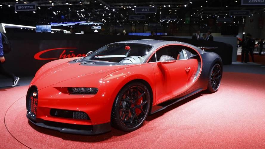 Genève 2018 - Voici la Bugatti Chiron Sport !