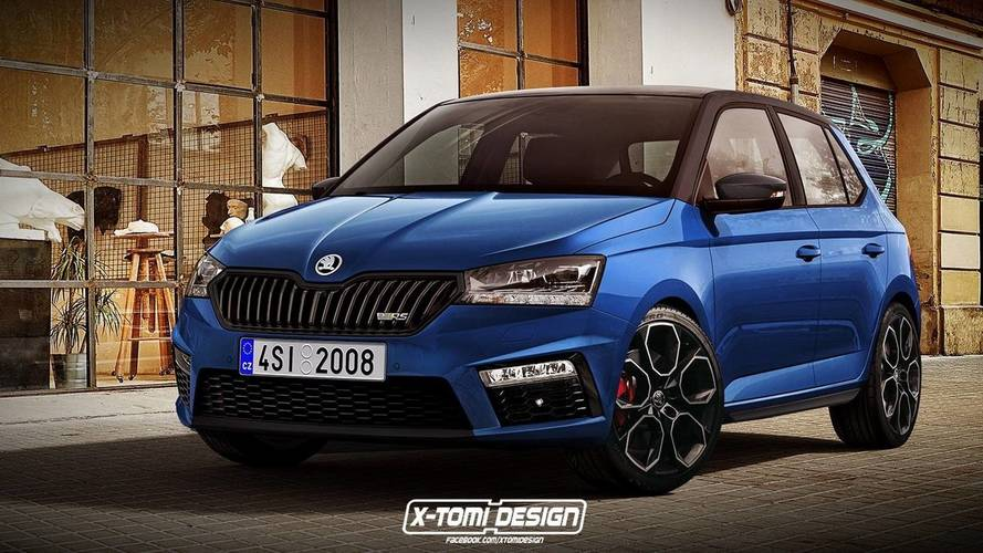 Fabia RS Render Is The Hot Hatch Skoda Won't Build