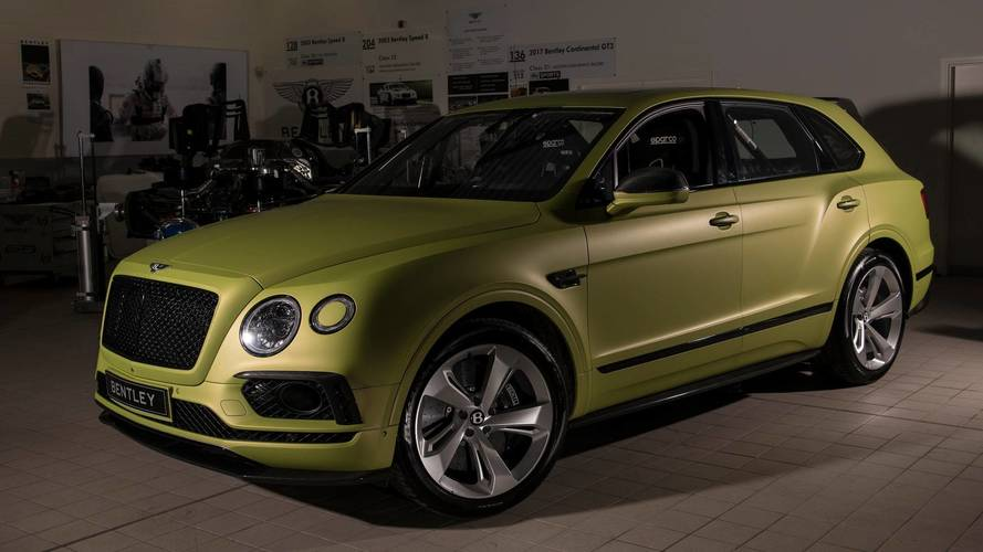Bentley Bentayga Driven By Rhys Millen Revealed For Pikes Peak