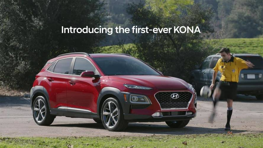 Hyundai Kona Super Bowl Ad Kicks Kid Soccer Players Off The Field