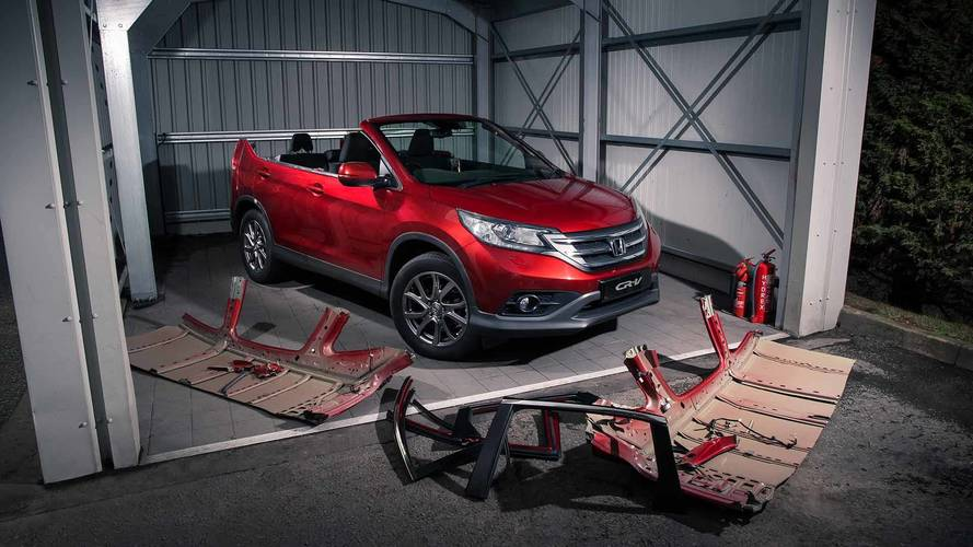 2019 Honda CR-V Roadster April Fools
