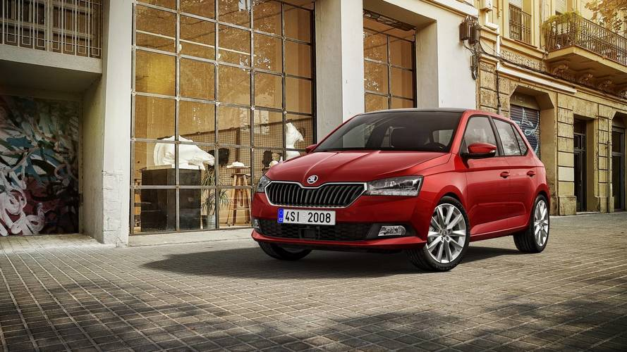 Skoda's bringing a facelifted Fabia to Geneva