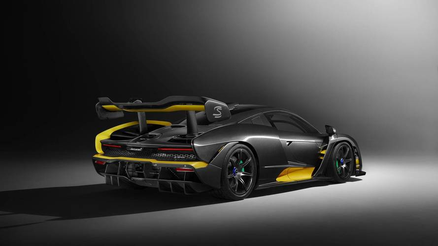 McLaren Senna Carbon kiadás