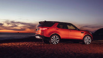 Land Rover Discovery naranja