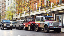 Land Rover Defender taxi