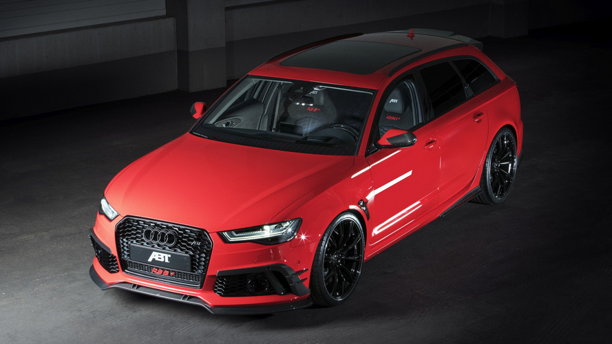 Tuned Audi RS6 Avant is more powerful than an R8 V10 Plus