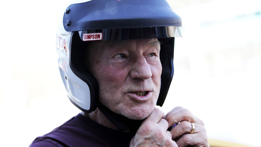 Actor Patrick Stewart To Race In Silverstone Classic - Engage!