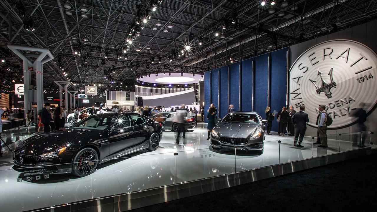 Maserati salón de Nueva York 2017