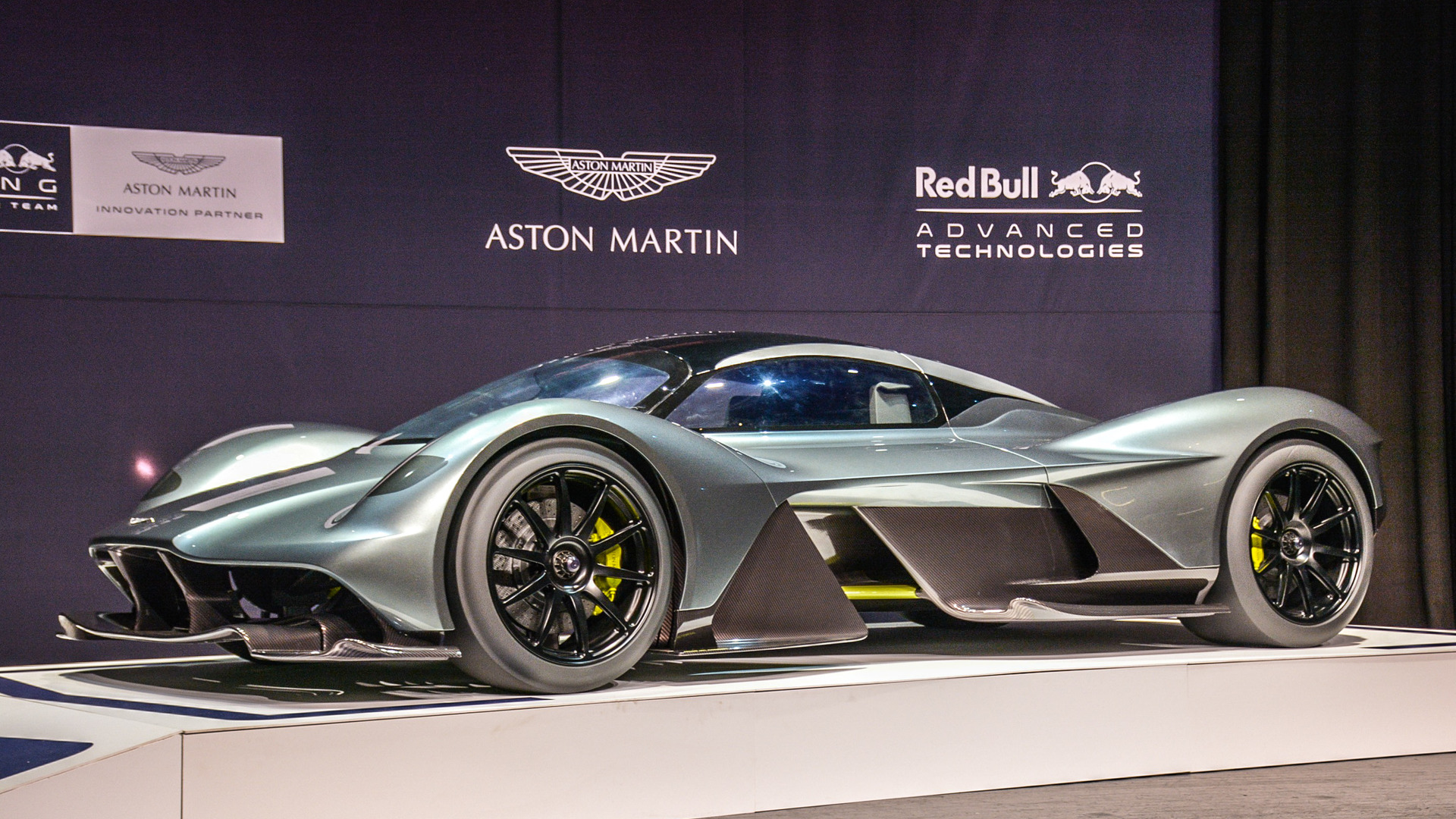 The Aston Martin Valkyrie Is Getting A Mid Engined Baby