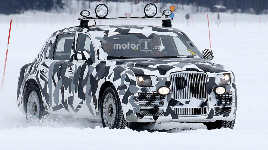 Super-Spy-Photos – лимузин Путина на тестах в Швеции?