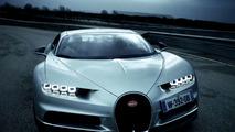 CR7 prueba el Bugatti Chiron
