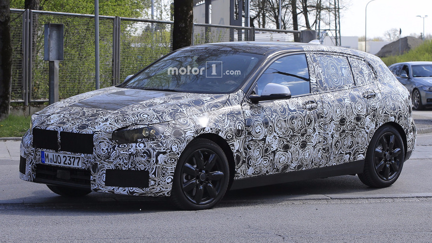 2019 BMW 1 Series Spied For The First Time