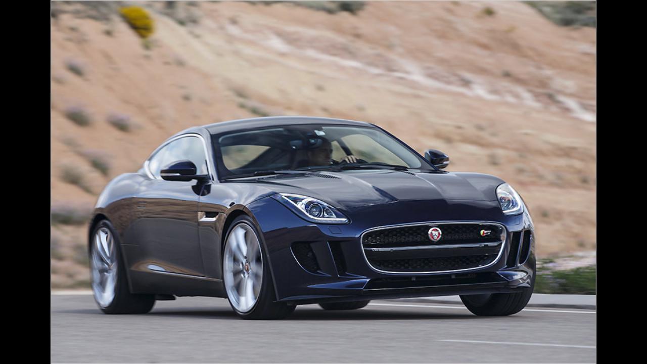 Auflösung: Der Jaguar F-Type