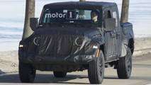 Jeep Scrambler Pickup Spy Photos