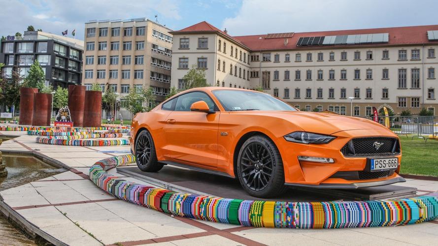 Új világrekordot állított fel a Ford és a LEGO