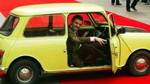 Mr Bean with Austin Mini