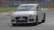 Fotos espía Hyundai i30 N Fastback 2018