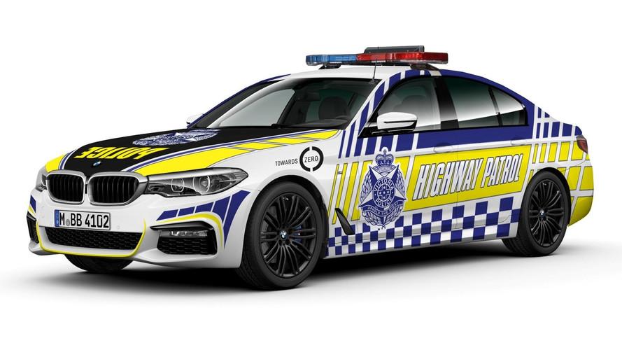 BMW 530d - Victoria Police, Avustralya