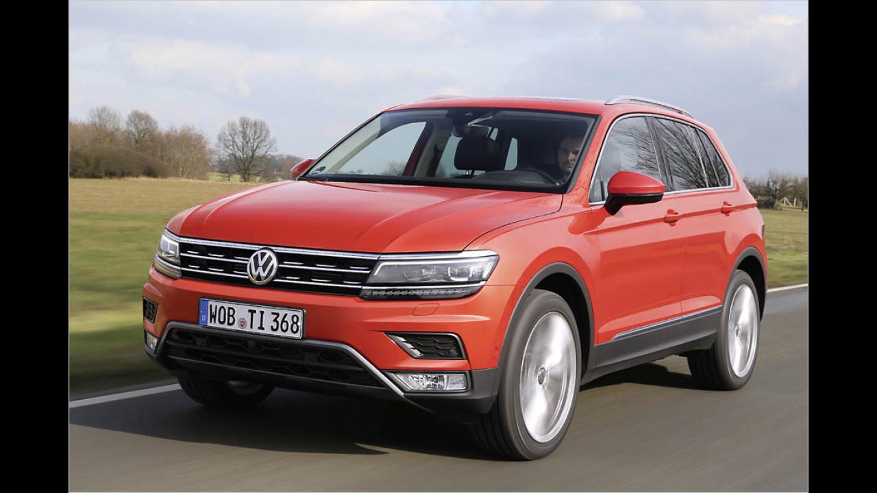 Geländewagen: VW Tiguan