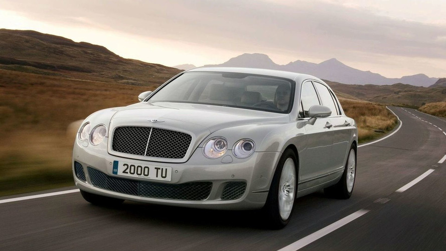 Bentley Continental Flying Spur recalled for sunroof falling out