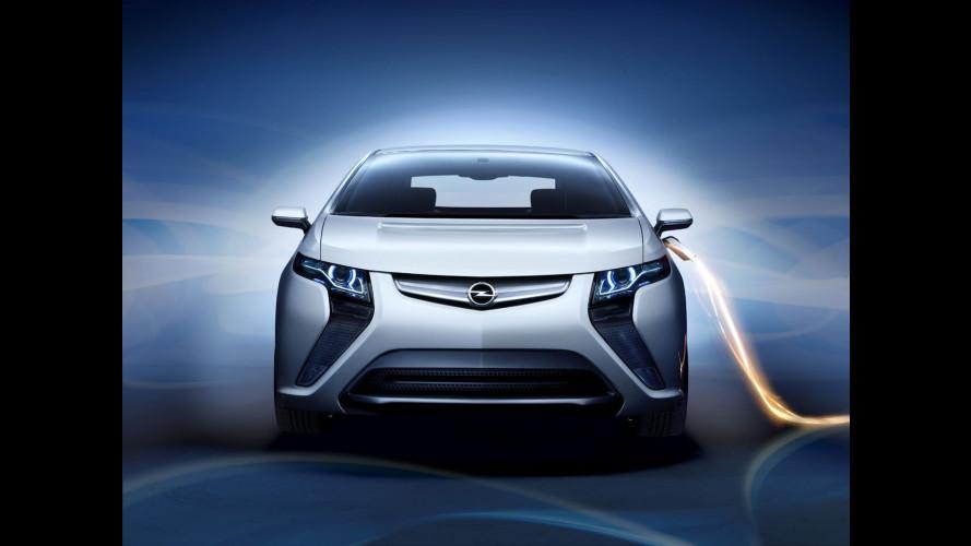 Chi consuma meno vince un'Opel Ampera